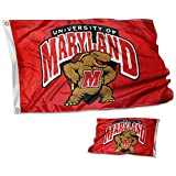 College Flags & Banners Co. Maryland Terrapins Double Sided Flag