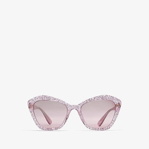 Glitter Pink/Gradient Pink Mirror