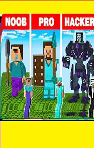 Minecraft NOOB vs PRO vs HACKER vs GOD_ SQUID GAME STATUE BUILD CHALLENGE in Minecraft, Comic For Kids, Teen, A pixelOwlLiving NightPumpkins, childrens ... Special books f (English Edition)