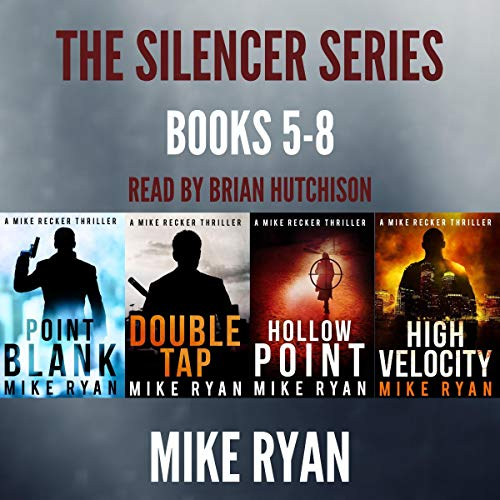 The Silencer Series Box Set Books 5-8 cover art