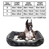 犬用ベッドベンチ犬用ベッドマット犬子犬用ベッド猫ペット犬小屋ラウンジャー犬用ベッドソファハウス猫用ペット製品、py0105、M as pictures