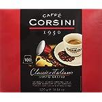 Caffe-Corsini-Dcc190-Classico-Italiano-Miscela-di-Caffe-in-Capsule-Compatibili-Nespresso-Gusto-Forte-e-Deciso-Confezione-da-100-Capsule