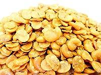 黒田屋 いかり豆 むき身 (揚げそら豆) 1000g 無漂白品 チャック袋 1kgX1袋 九州工場製造品 frybeans ムキビンズ