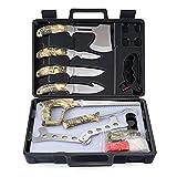 GVDV Hunting Knife Set - Portable Butcher Game Processing Kit for Men, Field Dressing Kit ...