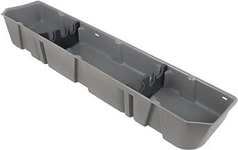 DU-HA Under Seat Storage Fits 15-17 Ford F-150 SuperCrew, Lt Gray, Part #20111