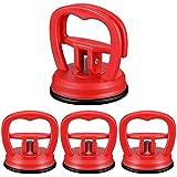 Lenere 4 piezas Auto Dent Puller Ventosa Herramienta de desabollado Mini Ventosa Ventosa...