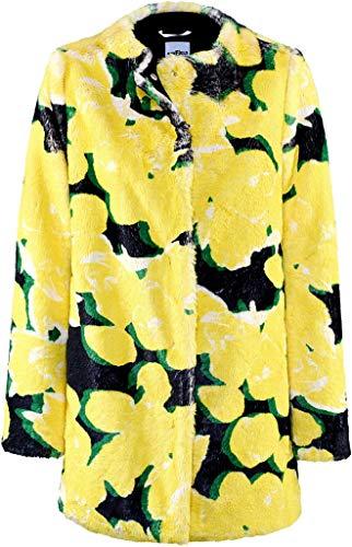 Airfield Damen Mantel Fortuna-Coat Größe 38 EU Gelb (gelb)