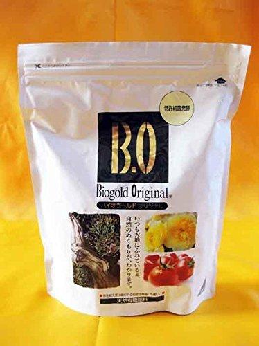 Biogold original japonés, NPK 5, 5-6, 3,7 () 900 g, de verano para abono granular bonsai