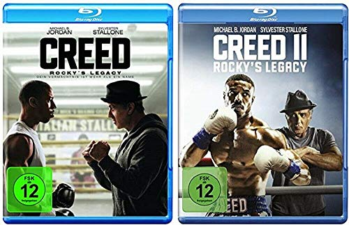 Creed Rocky's Legacy 1+2 [Blu-ray Set] Creed 1+2, Teil 1+2
