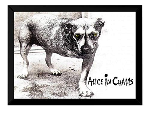Quadro Banda Alice In Chains 1995 Capa Poster Moldurado