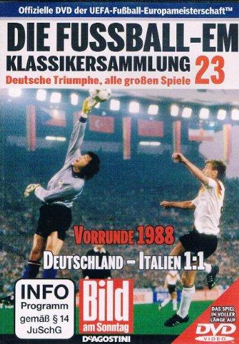 Die Fussball-EM ~ Klassikersammlung 23 ~ Deutsche Triumphe, alle grossen Spiele ~ Vorrunde 1988 ~ Deutschland - Italien 1:1