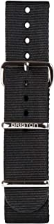 Briston - Bracelet Type NATO - Noir