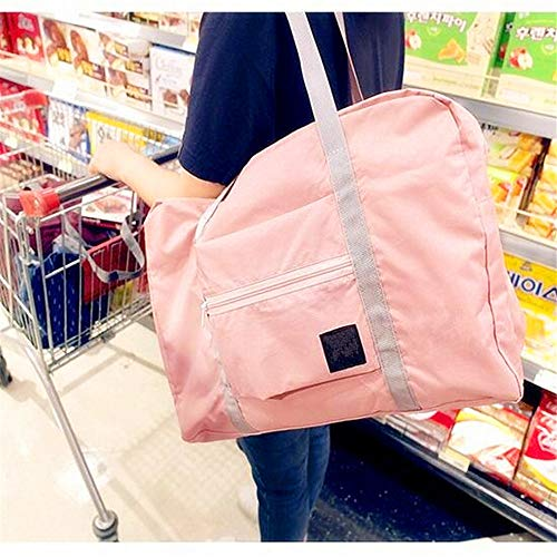 2 Pieces/lot Large Capacity Travel Bag Man Women Weekend Bag Big Capacity Bag Travel Carry on Luggage Bags Waterproof Foldable