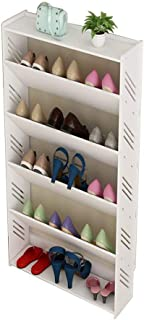 Hyl Zapateros Dongy Shoe Rack inclinación diseño del triángulo Resistente a la Humedad Montaje fácil y Elegante Moderno de...