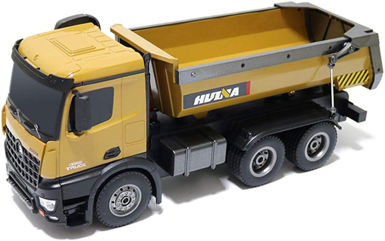 Wapipey RC Kipper 1 14 Skala 2,4 GHz RC Dumping Truck Auto Fernbedienung Engineering Fahrzeug Spielzeug Geschenk für Kinder Kinder