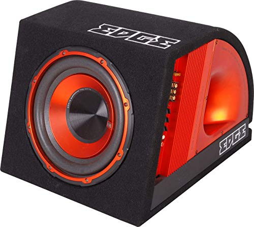 EDGE 10 inch V2 Audio Active Enclosure for Subwoofer,ORANGE