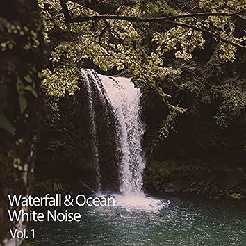 Waterfall & Ocean White Noise Vol. 1