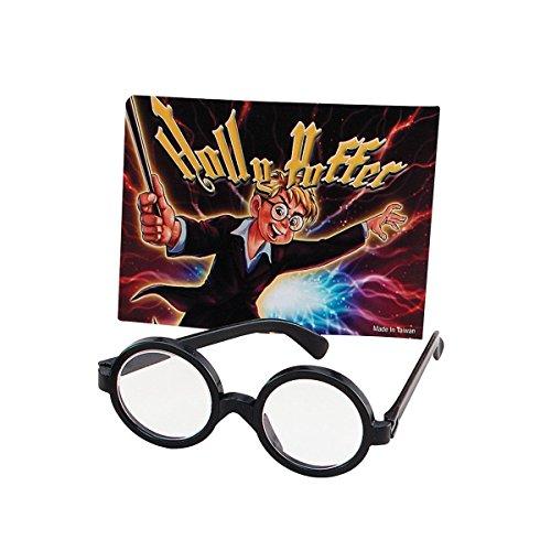 School boy Specs Clear Lenses (accesorio de disfraz)