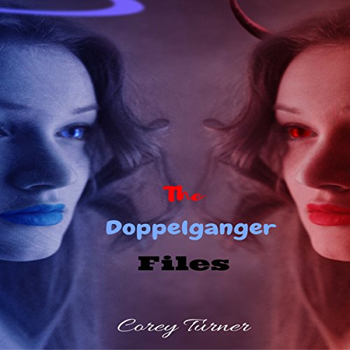 The Doppelganger Files audiobook cover art