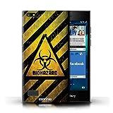 Stuff4® Hülle/Hülle für BlackBerry Leap/Biohazard