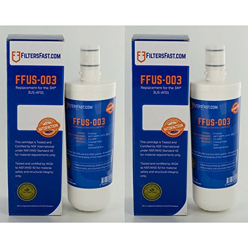 Filters Fast Compatible Replacement for 3M Filtrete 3US-AF01-2 Pack
