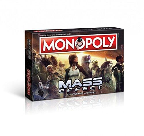 Unbekannt Monopoly - Limitierte Mass Effect N7 Collector's Edition - Deutsch - 6 Sammler Spielfiguren | Gesellschaftsspiel | Brettspiel