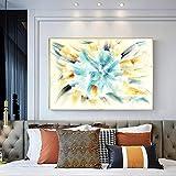 Pintura abstracta moderna de la lona pintura del arte mural póster pintura decorativa pintura de la lona pintura decorativa sin marco del hogar Z55 60x80cm