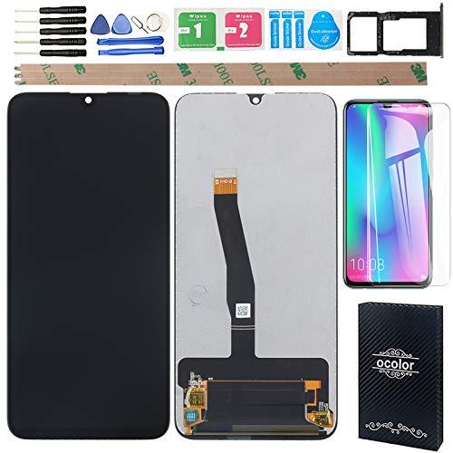 """YHX-OU 6.21"""" per Huawei P Smart 2019 Pot-LX3 P Smart Plus 2019 Enjoy 9S di Riparazione e Sostituzione LCD Display Touch Screen Digitizer E Strumenti di Installazione+Vetro temperato+SIM Card (Nero)"""
