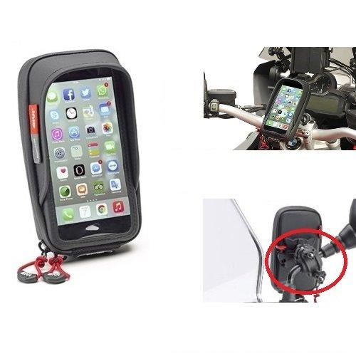 KOMU K45 PORTA GPS SMARTPHONE TELEFONO CELLULARE GIVI S957B TOUCH DA MANUBRIO O PER SPECCHIETTO UNIVERSALE
