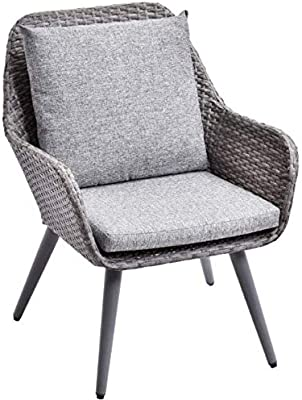 Swell Amazon Com Modway Eei 2276 Gry Whi Set Abate Wicker Rattan Forskolin Free Trial Chair Design Images Forskolin Free Trialorg