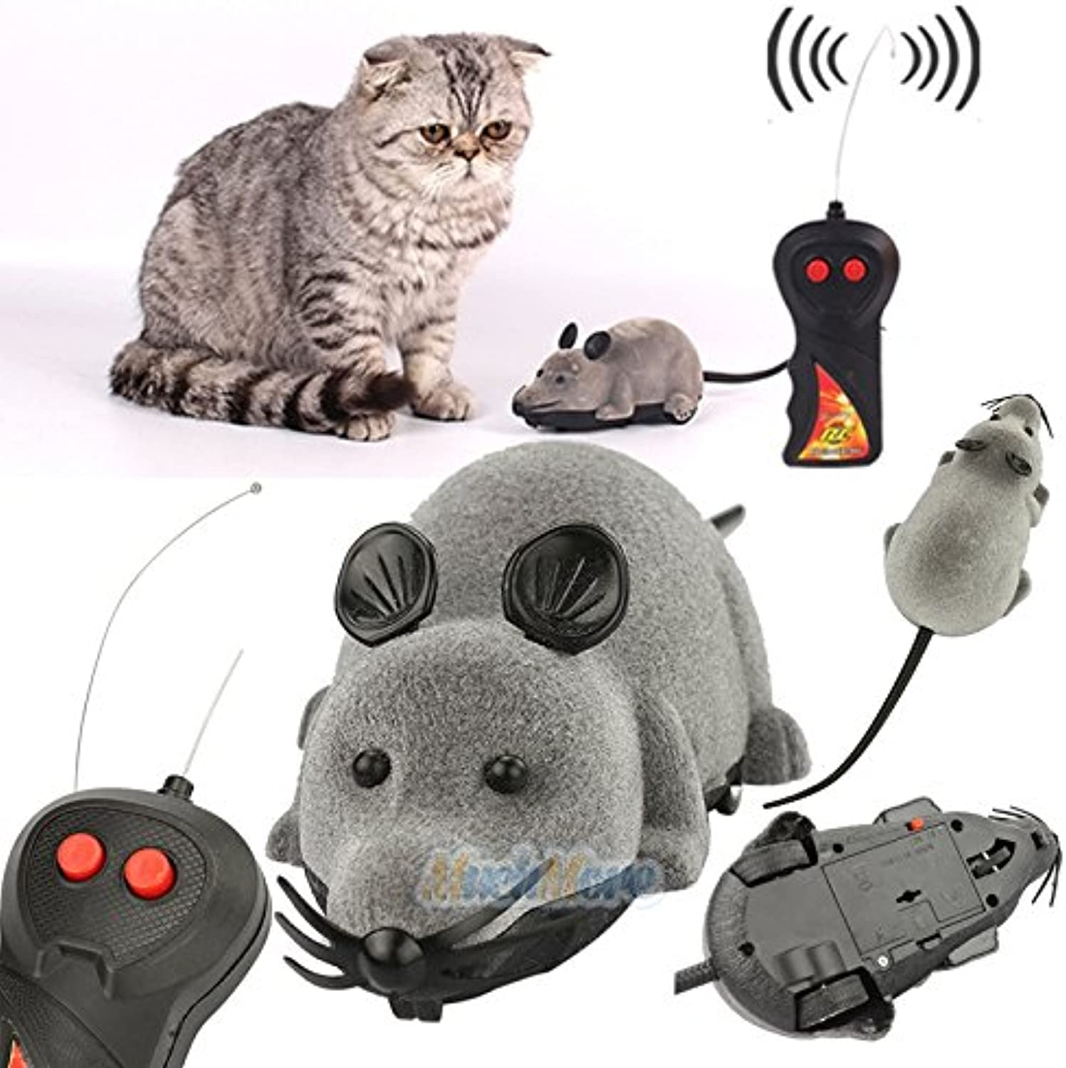 Remote Control RC Rat Mouse Wireless for Cat Dog Pet Funny Toy New by WW shop