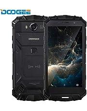Doogee S80 4G SIMフリースマートフォン本体-10080 mAh 大容量 バッテリ,5.99インチ FHD 全画面 18:9ディスプレイ(2160 x 1080) IP68/IP69K 防塵 防水 耐衝撃 アウトドア 携帯電話本体 デュアルSIM(Nano) 6GB RAM+64GB ROM MT6763T オクタコア Android 8.1 12.0MP+5.0MP リアデュアルカメラ 16MP フロントカメラ 指紋認識 GPS OTG NFC コンパス LED懐中電灯【一年保証】