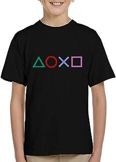 Cloud City 7 Playstation Shapes Kid's T-Shirt