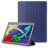 Lenovo Tab 2 A10 / Tab3 10 Plus / Tab3 10 Business Hülle - Schutzhülle mit Auto Aufwachen/Schlaf Funktion für Lenovo Tab 2 A10-30 / A10-70 / Tab3 10 Plus / Tab3 10 Business 10.1