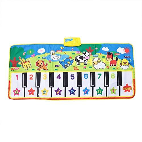 Estera De Baile Musical Bebé Educación Temprana Música Teclado De Piano Alfombra De Juego Actividad Manta De Gimnasio Aprender Cantar Juguete Divertido Regalo para Niños Niños Pequeños