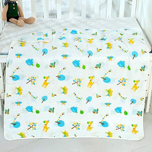 Aututer Manta de bebé recién Nacido niño niña Toalla de baño pañal Envuelto en Tela Gasa de algodón Cubierta de Cochecito de algodón | Manta y pañales