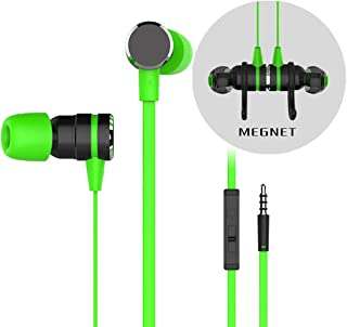 Earphones Dual Driver with Mic Gaming Headset Mp3 DJ Field Headset with Smartphone, MP3/MP4 Player Tablet And All 3.5Mm Au...
