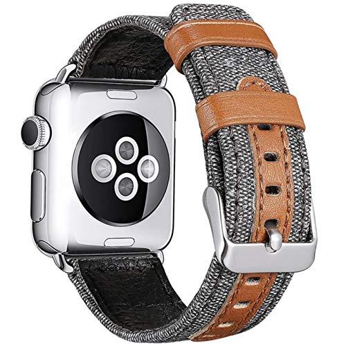 Para apple watch 42 mm brazaletes para iWatch iphone watch applewatch correa pulsera montre cuir serie 5 44 mm