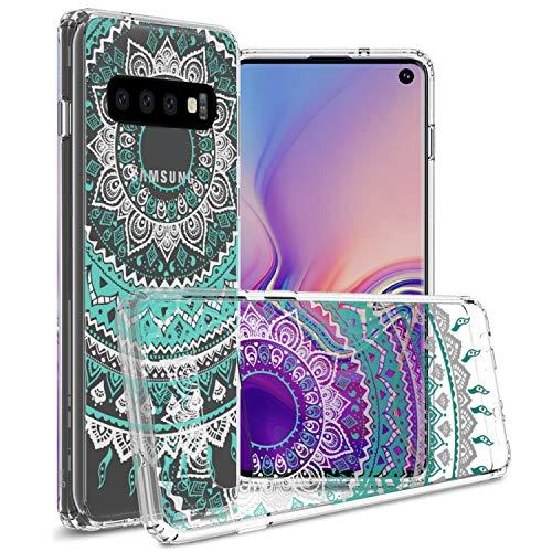 mandala design clear case for galaxy s10