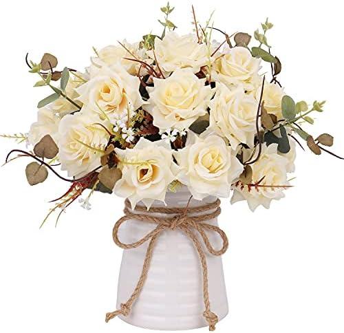 Centros de mesa con flores artificiales _image1