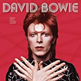 David Bowie 2021 12 x 12 Inch Monthly Square Wall Calendar by Live Nation, Glam Rock Music Singer Songwriter Celebrity