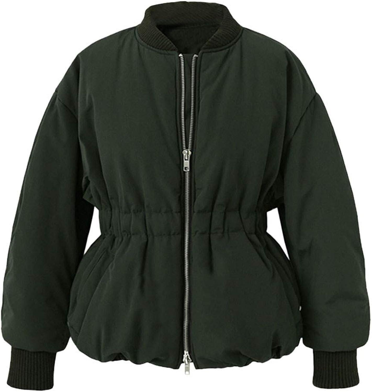 FANOUD Women Coat Long Sleeve Lapel Wool Trench Coat Big Pocket Outwear