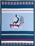 Thomas die kleine Lokomotive bestickte Tagesdecke & Kissenhülle, 100 prozent Baumwolle