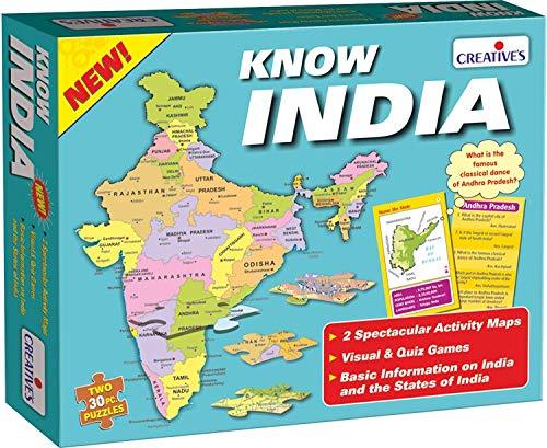 Creative Educational Aids P. Ltd. Wildlife Educational Games & Puzzle , 60 Piece, Multicolour