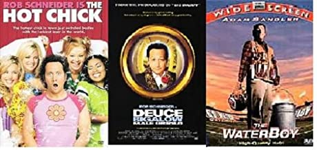Comedy 3-Pack: (The Hot Chick / Deuce Bigalow / The Waterboy)