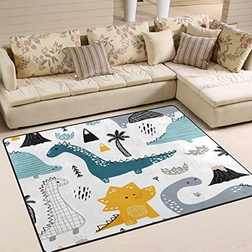 Use7 Teppich für Wohnzimmer, Schlafzimmer, 160 x 122 cm