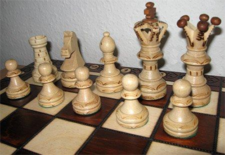 Chessebook Jeu d'échecs en Bois avec Mallette 52 cm