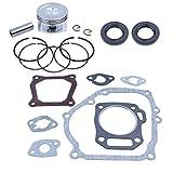 68mm Piston Rings Gasket Oil Seal Rebuild Kit for Honda GX160 GX200 168F 5.5/6.5HP 2-3.5kw Gasoline Generator Trimmer Engine