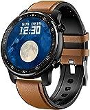 PKLG Smart Watch con Activity Tracker, Bluetooth con lettore musicale, modalità di esercizio, fotocamera remota, touch screen, fitness tracker (A)(A)(B)