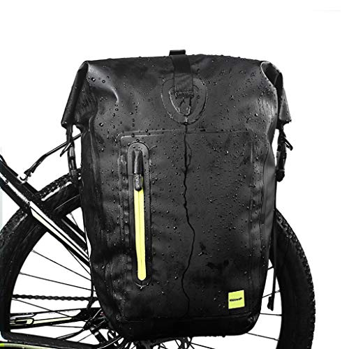 DJCALA Bolsa a Bici 25L Alforjas para Montaña Bicicletas Impermeable, Biciclete de...